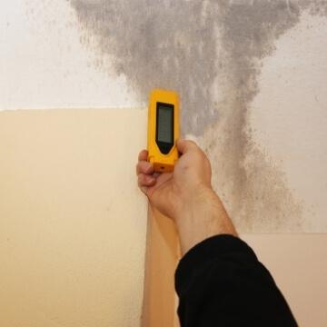 תיקון רטיבות בקיר איתור נזילות